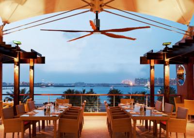 Outdoor Restaurant - Mahogany